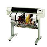 HP Designjet 750c plus 36 tum poster papper
