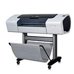 HP Designjet T1100 PS 24 tum fotopapper