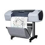 HP Designjet T1120ps 24 tum fotopapper