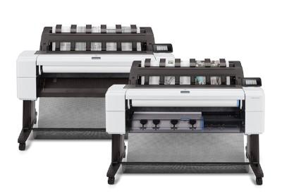 HP Designjet T1600ps 36 tum poster papper