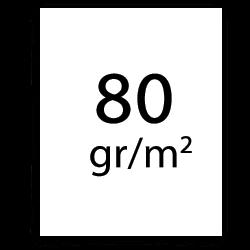 80 g/m2 plotterpapper