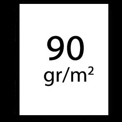 90 g/m2 plotterpapper